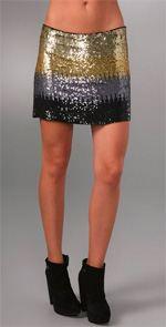 Haute Hippie, skirt, sequined skirt