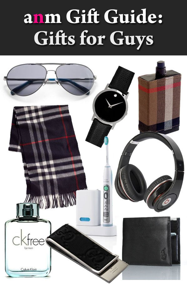 ANM Gift Guide: Gifts for Guys post image