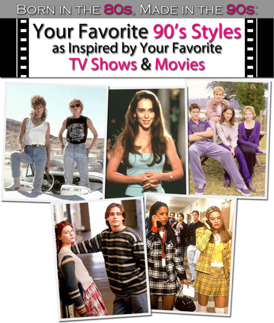 Born in the 80s, Made in the 90s: Your Favorite 90's Styles as Inspired by Your Favorite TV Shows & Movies post image