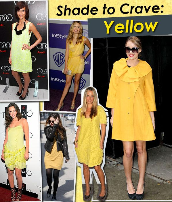 Shade to Crave: Yellow post image