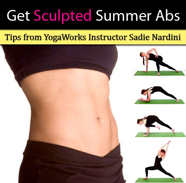 Get Sculpted Summer Abs: Tips from YogaWorks Instructor Sadie Nardini post image