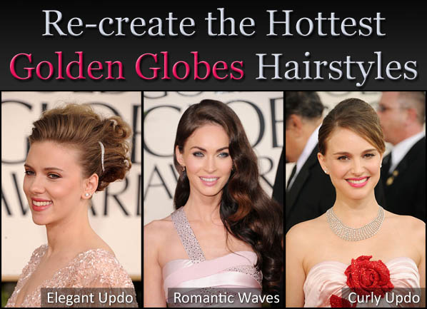 Re-create the Hottest Golden Globes Hairstyles post image