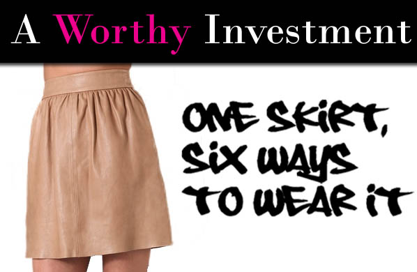 One Investment Piece, Six Ways to Wear It post image