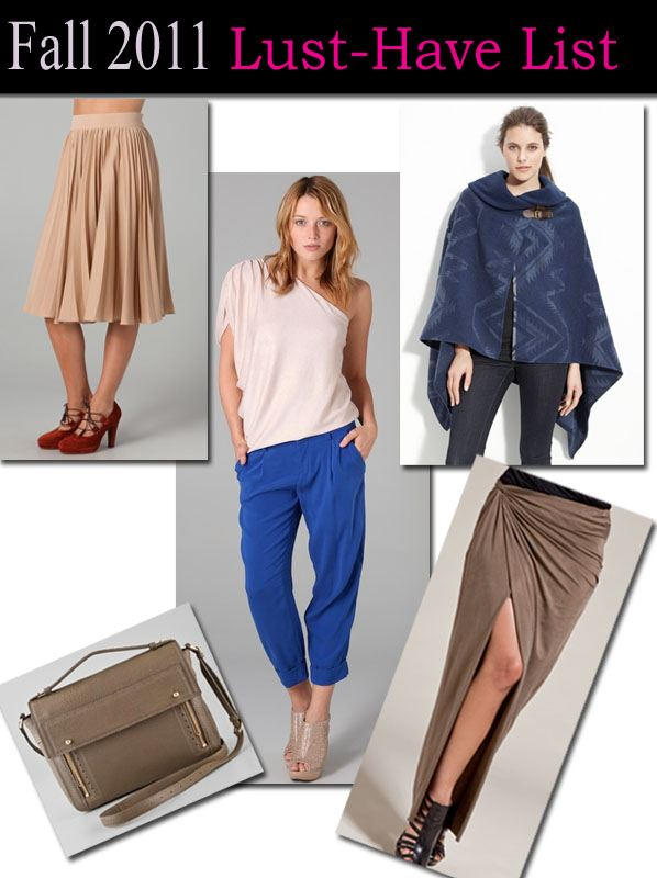 My Fall 2011 Fashion Wish List post image