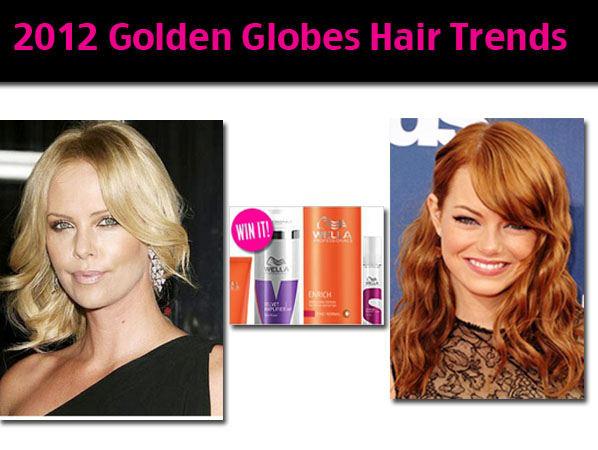 2012 Golden Globes Hottest Hair Trends post image