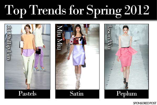 Top Trends for Spring 2012 post image