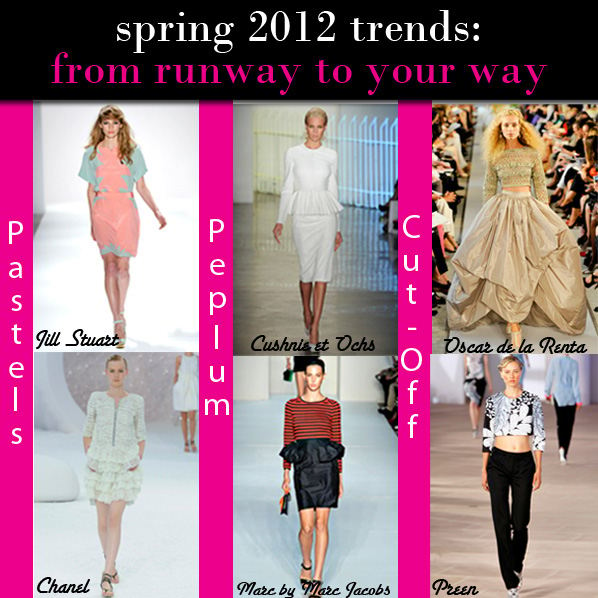 Spring 2012 Trends: From the Runway to Your Way post image