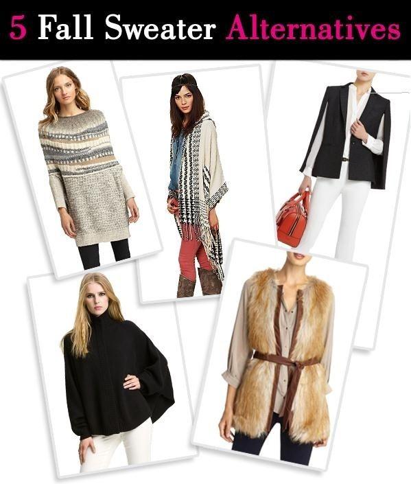 Fall Sweater Alternatives post image
