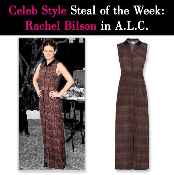 Celeb Style Steal: Rachel Bilson in A.L.C post image