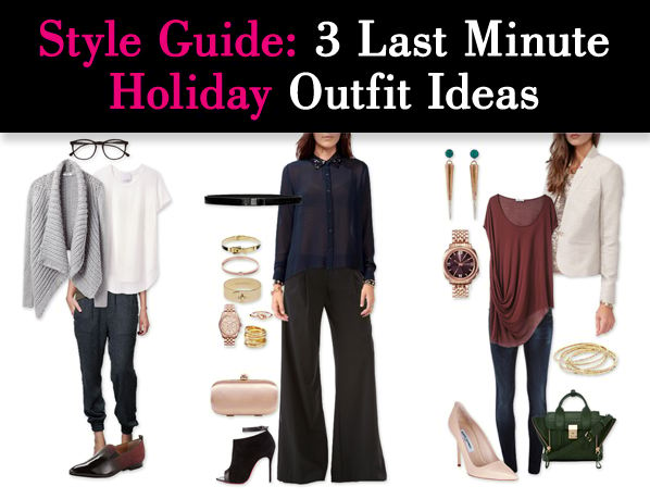 Style Guide: 3 Last Minute Holiday Outfit Ideas post image