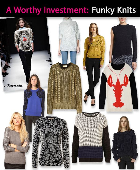 A Worthy Investment: Funky Winter Knits post image