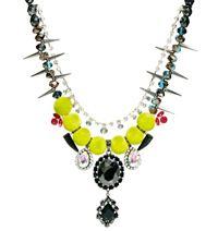 Asos gem stome necklace