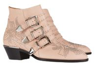 Susanna studded leather boots
