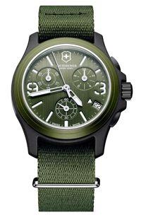 Victorinox swiss army chronograph watch