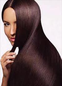 Winter beauty hair