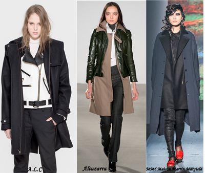 trend layered coat