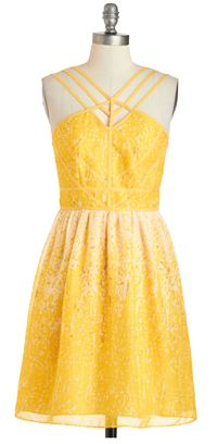 Here Comes the Sunglow Dress