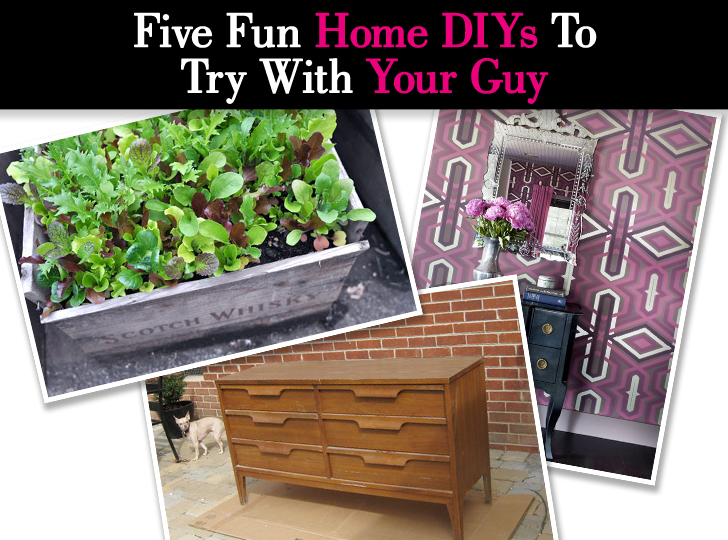 Five Fun Home DIYs To Try With Your Guy post image