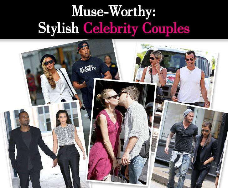 Muse-Worthy: Stylish Celebrity Couples post image