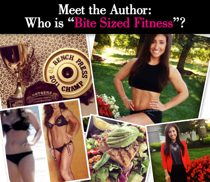 """Meet the Author: Who is """"Bite Sized Fitness""""? post image"""