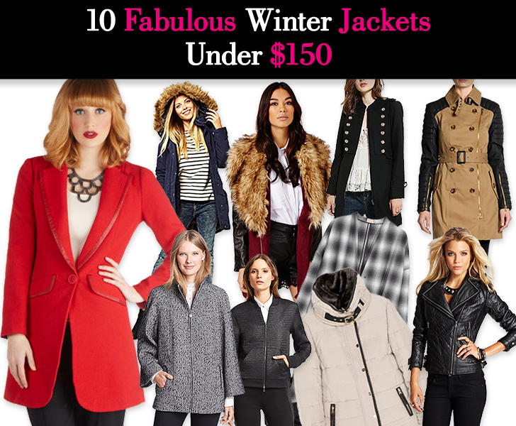 10 Fabulous Winter Jackets Under $150 post image