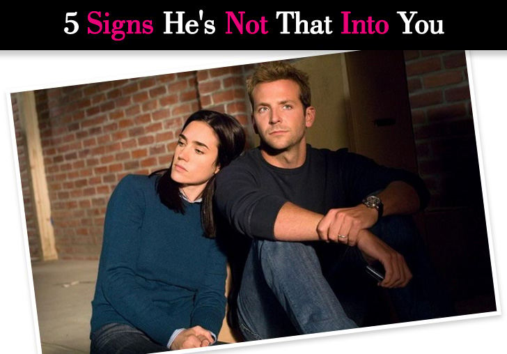 5 Signs He's Not That Into You post image