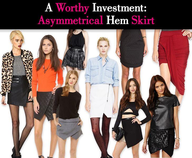 A Worthy Investment: Asymmetrical Hem Skirt post image