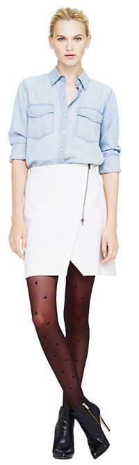 Lula Asymmetrical Wrap Skirt