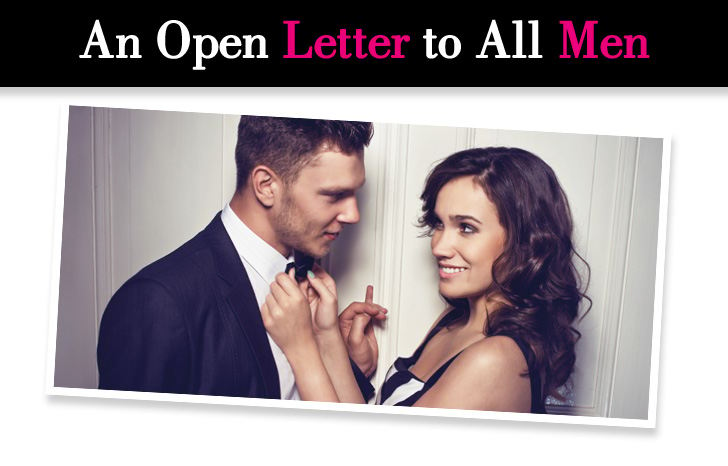 An Open Letter to All Men post image