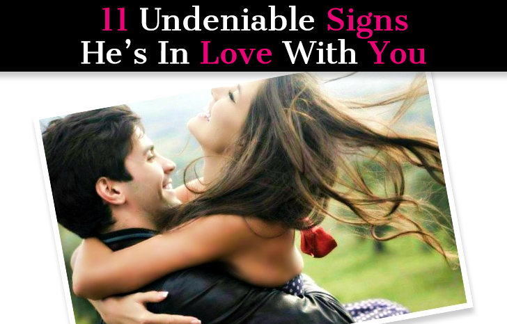 11 Undeniable Signs He's In Love With You post image