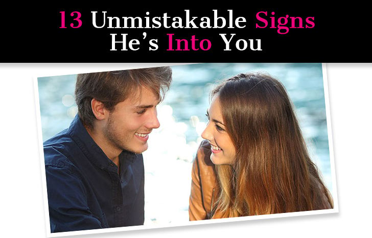 13 Unmistakable Signs He's Into You post image