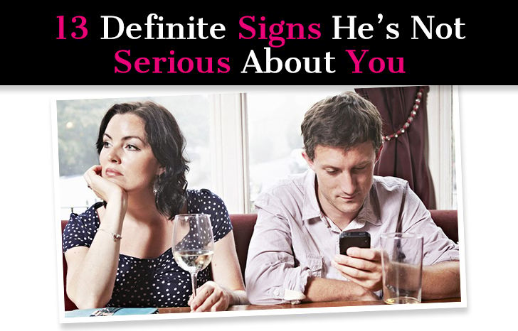 13 Definite Signs He's Not Serious About You post image