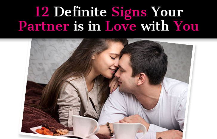 Love with is signs in you not partner your 17 Brutally