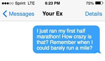Talking dirty to my boyfriend texting