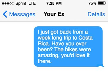 Questions to ask your ex that you still like