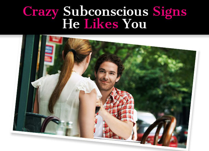 Crazy Subconscious Signs He Likes You (These Guarantee He Wants You) post image