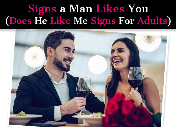Signs man sure you a likes How To