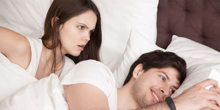 how to know if he is cheating sexually