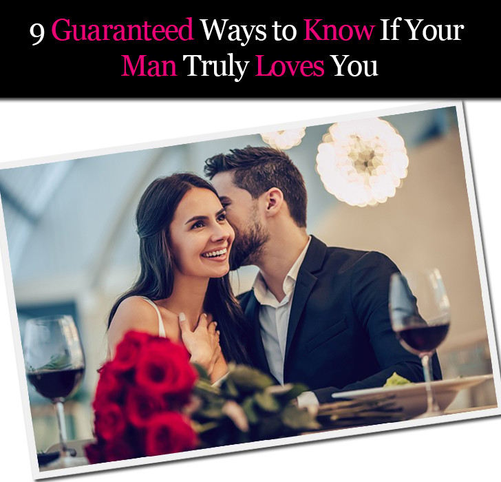 Ways to tell if a guy loves you